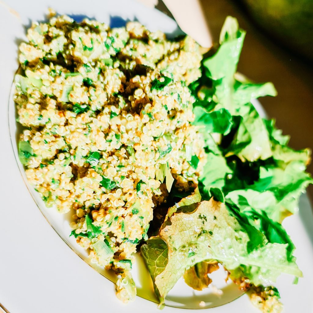 Rizzoto de quinoa aux légumes